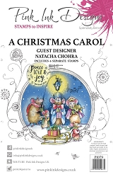 Pink Ink Designs - A Christmas Carol A5 Clear Stamp Set