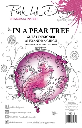 Pink Ink Designs - In A Pear Tree A5 Clear Stamp Set