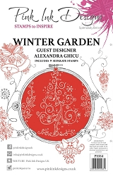 Pink Ink Designs - Winter Garden A5 Clear Stamp Set