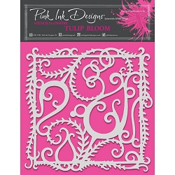 Pink Ink Designs - Tulip Bloom 8x8 Stencil