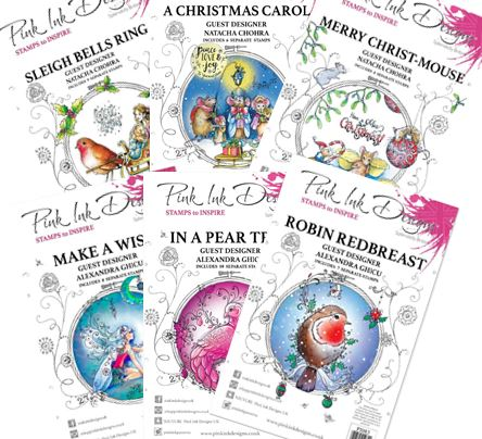 Pink Ink Designs UK - New Christmas stamps