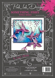 Pink Ink Designs - Something Fishy A4 Clear Stamp Set + dies