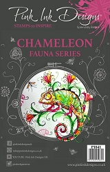 Pink Ink Designs A5 Clear Stamp Set - Chameleon