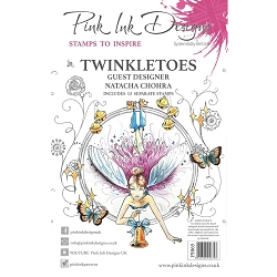 Pink Ink Designs - Twinkletoes A5 Clear Stamp Set