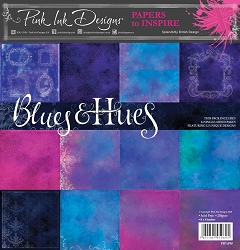 Pink Ink Designs - Blues & Hues 8x8 Paper Pad