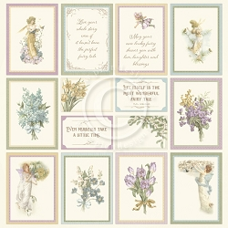 Pion Design - Four Seasons of Fairies Collection - Images From The Past I - 12