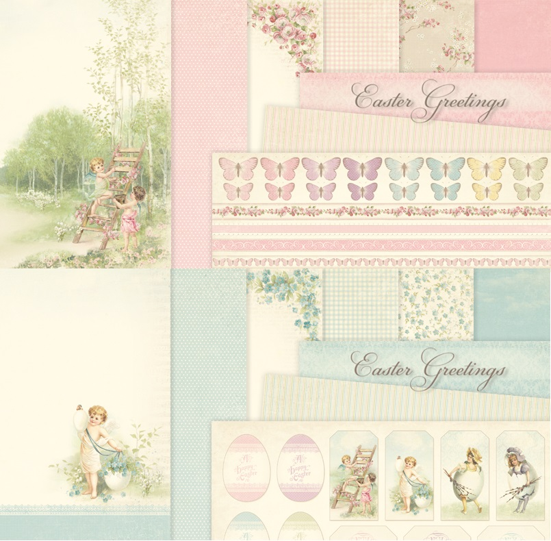 Easter Greetings Collection