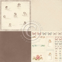 Pion Design - Sweet Baby Collection - 6x6 Designs - 12