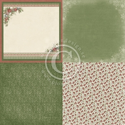 Pion Design - A Christmas To Remember Collection - 6X Christmas Florals - 12