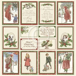 Pion Design - A Christmas To Remember Collection - Images From The Past II - 12