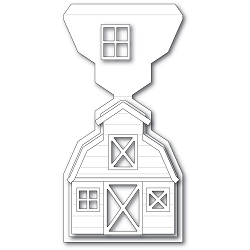 PoppyStamps - Die - Country Barn Pop Up Easel