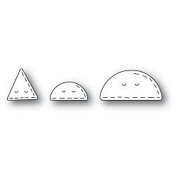 PoppyStamps - Die - Whittle Taco and Nacho