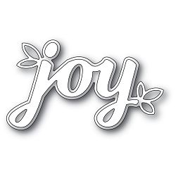 PoppyStamps - Die - Holiday Joy