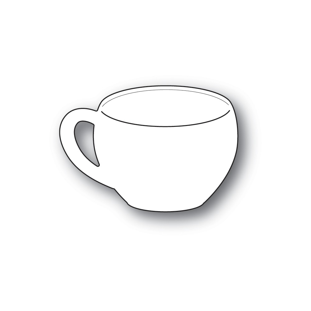 PoppyStamps - Die - Classic Coffee Cup