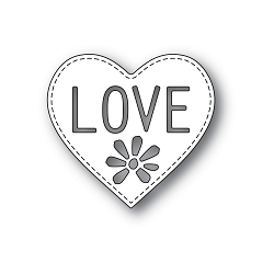 PoppyStamps - Die - Love Heart