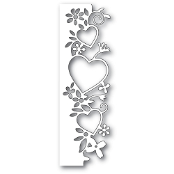 PoppyStamps - Die - Wild at Heart Border