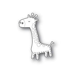 PoppyStamps - Die - Whittle Giraffe