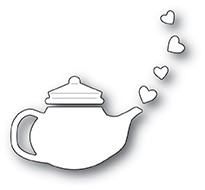 Poppy Stamps - Die - Lovely Teapot