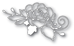 Poppy Stamps - Die - Blooming Rose