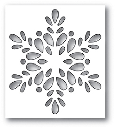 Poppy Stamps - Die - Seed Snowflake Collage