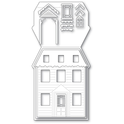 PoppyStamps - Die - Winter House Pop Up Easel Set