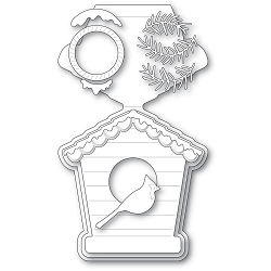 PoppyStamps - Die - Bird House Pop Up Easel Set