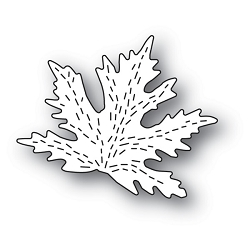 Poppy Stamps - Die - Whittle Maple Leaf