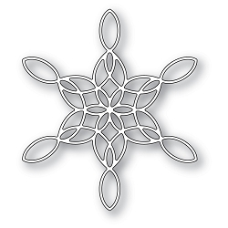 PoppyStamps - Die - Stained Glass Snowflake