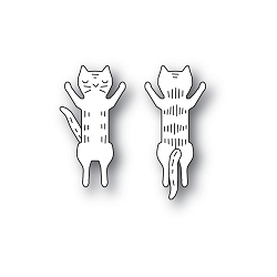PoppyStamps - Die - Whittle Jumping Kitty