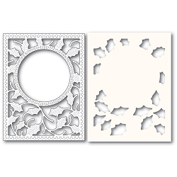 PoppyStamps - Die - Holly Frame and Stencil