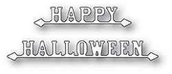 Poppy Stamps - Die - Happy Halloween Signs
