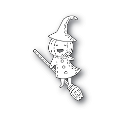 PoppyStamps - Die - Whittle Pumpkin Witch