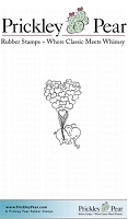 Prickley Pear - Cling Stamp - Small Effie