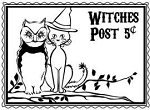 Prickley Pear-Cling Stamp-Witches Post