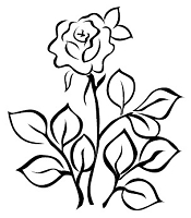 Prickley Pear - Cling Stamp - Rose