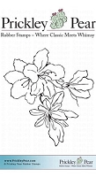 Prickley Pear - Cling Stamp - Amaryllis