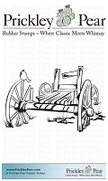 Prickley Pear - Cling Stamp - Wooden Cart