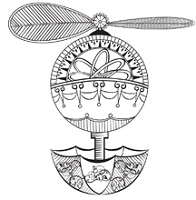 Prickley Pear - Cling Rubber Stamp - Steampunk Navigator