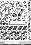 Prima-Lg Cling Mounted Stamp-Alla Prima :)