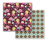 Prima Cardstock - So Cute Argyle