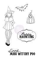 Prima - CLING STAMP - WITCHY POO by Julie Nutting