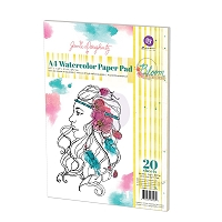 Prima - A4 WATER COLOR PAPER PAD by Jamie Dougherty