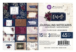 Prima - Darcelle Collection - 4x6 Journaling Cards