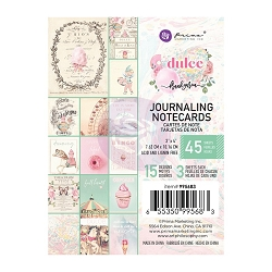 Prima - Dulce Collection - 3x4 Journaling Cards