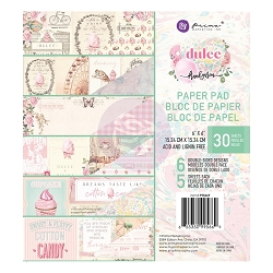 Prima - Dulce Collection - 6x6 Paper Pad
