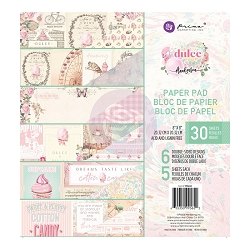 Prima - Dulce Collection - 8x8 Paper Pad