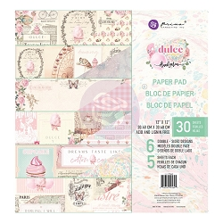 Prima - Dulce Collection - 12x12 Paper Pad