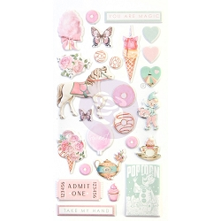 Prima - Dulce Collection - Puffy Stickers