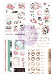 Prima - Havana Collection - rose Stickers