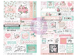 Prima - Havana Collection - Word & Quote Stickers